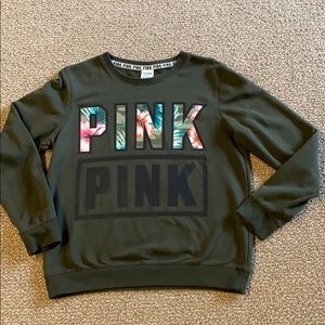 💋 VICTORIA'S SECRET HAWAIIAN GRAPHIC SWEATSHIRT